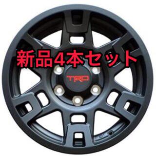 トヨタ - 【新品未使用】USトヨタ 純正品 TRD 17インチ ホイール マットブラック