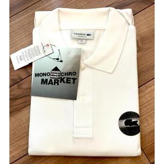 ラコステ(LACOSTE)のラコステ Monochro Market Dot Polo 新品 Lサイズ(ポロシャツ)