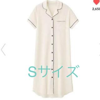 ジーユー(GU)のGU&SABON パイルパジャマ Sサイズ オフホワイト ワンピース(パジャマ)