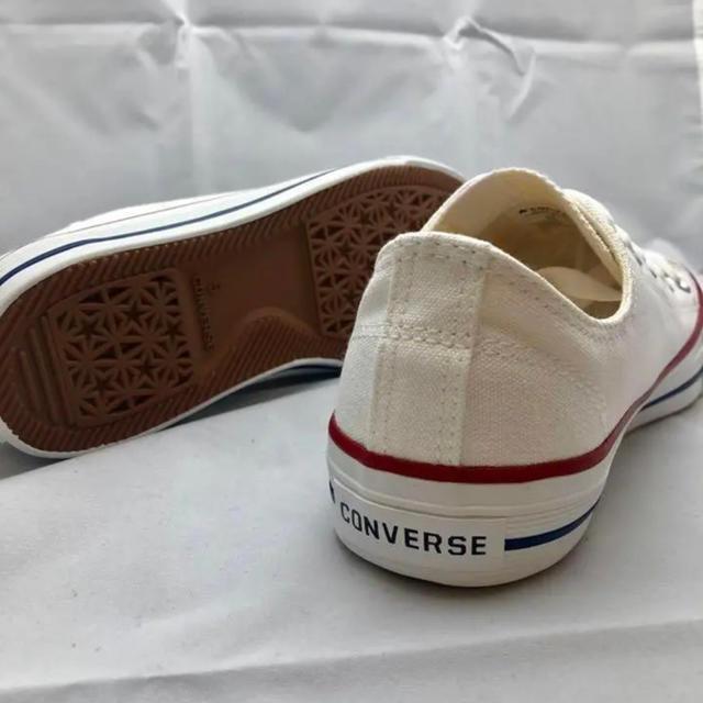 CONVERSE(コンバース)のCONVERSE コンバース ローカット スニーカー ホワイト 24.5 レディースの靴/シューズ(スニーカー)の商品写真