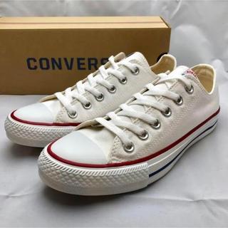 CONVERSE - CONVERSE コンバース ローカット スニーカー ホワイト 24.5
