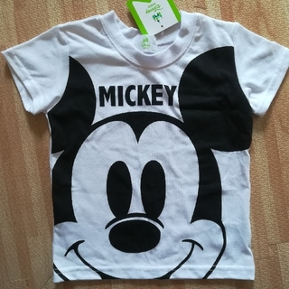 ディズニー(Disney)の新品 タグ付 95 ミッキーマウス Tシャツ ディズニー ミッキー(Tシャツ/カットソー)
