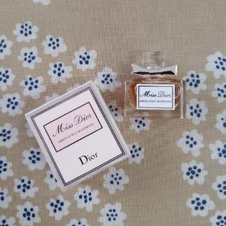 ディオール(Dior)のミニサイズ ディオール 香水(香水(女性用))