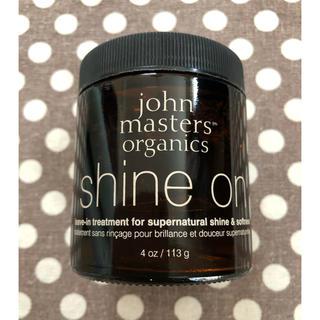 ジョンマスターオーガニック(John Masters Organics)のジョンマスター オーガニック シャインオン (ヘアムース/ヘアジェル)