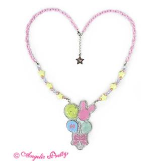 アンジェリックプリティー(Angelic Pretty)のmagicalバルーンネックレス ピンク(ネックレス)