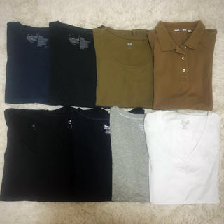 ジーユー(GU)のレディース 半袖 Tシャツ 美品(Tシャツ(半袖/袖なし))
