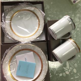 ノリタケ(Noritake)のノリタケ マグ2個と23センチ2枚セット(食器)