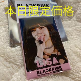 BLACKPINK リサ 缶バッジ(ミュージシャン)