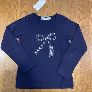 タルティーヌ エ ショコラ(Tartine et Chocolat)の新品 タルティーヌエショコラ 長袖Tシャツ 130(Tシャツ/カットソー)
