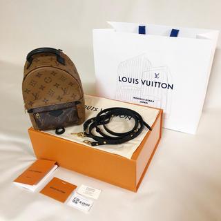 ルイヴィトン(LOUIS VUITTON)の国内正規品 新品 ルイヴィトン パームスプリングスバックパックMINI リュック(リュック/バックパック)
