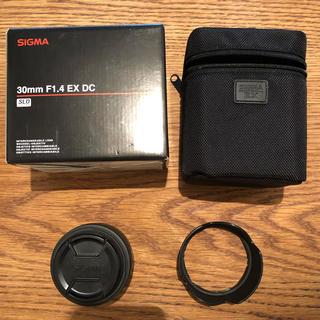 キヤノン(Canon)のSIGMA 30mm F1.4 EX DC キャノン用(レンズ(単焦点))