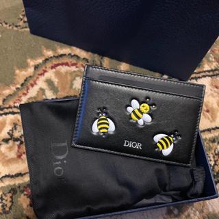 ディオール(Dior)のDIOR X KAWS カードホルダー(名刺入れ/定期入れ)