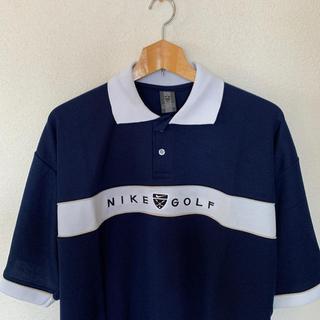 ナイキ(NIKE)の美品/NIKEGOLF ナイキゴルフメンズポロシャツ(ウエア)