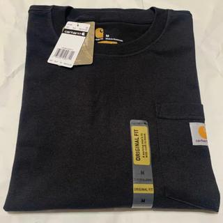 カーハート(carhartt)の【新品・未使用】carhartt カーハート ポケットTシャツ 半袖 ブラック(Tシャツ/カットソー(半袖/袖なし))