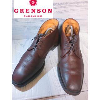 クロケットアンドジョーンズ(Crockett&Jones)のグレンソン GRENSON チャッカーブーツ(ブーツ)