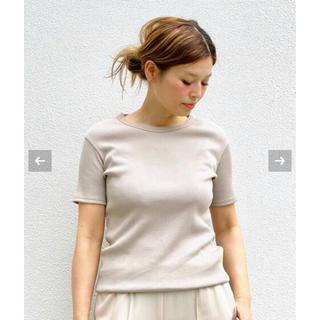 DEUXIEME CLASSE - 新品未使用◆Deuxieme Classe EVERYDAY テレコ Tシャツ