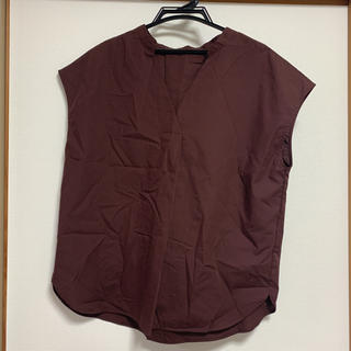 ジーユー(GU)の【 新品 未使用 】GU シャツ ブラウス(シャツ/ブラウス(半袖/袖なし))