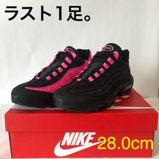 ナイキ(NIKE)のNIKE ナイキ エアマックス95 og ブラック ピンク(スニーカー)