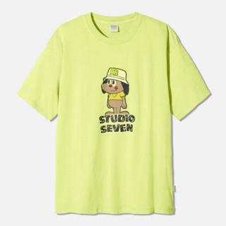 ジーユー(GU)のgu スタジオセブン ビッグTシャツ(Tシャツ/カットソー(半袖/袖なし))