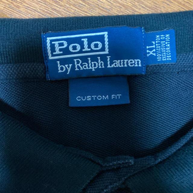 POLO RALPH LAUREN(ポロラルフローレン)のポロラルフローレン ポロシャツ ビッグポニー 黒 XL メンズのトップス(ポロシャツ)の商品写真