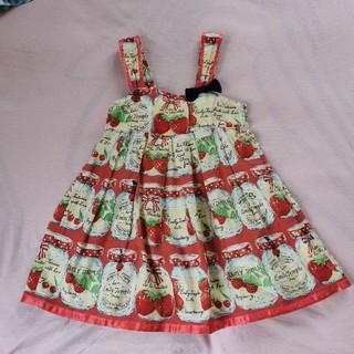 Shirley Temple - エミリーテンプルルル いちごジャム瓶ジャンパースカート シャーリーテンプル