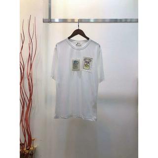 アクネ(ACNE)のAcne Ellevy Print Patch Pale PinkクルーネックT(Tシャツ(半袖/袖なし))