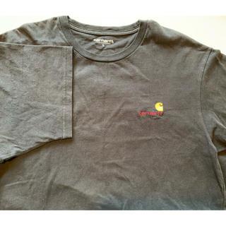 カーハート(carhartt)のcarhartt  tシャツ 黒 L(Tシャツ/カットソー(半袖/袖なし))