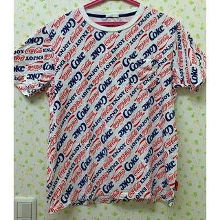ジーユー(GU)のGU コカコーラ Tシャツ(Tシャツ/カットソー(半袖/袖なし))