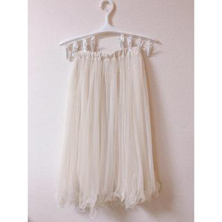 アイズビット(ISBIT)のレア/チュールスカート(ひざ丈スカート)