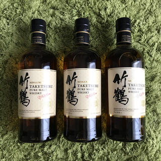 ニッカウイスキー(ニッカウヰスキー)の新竹鶴 700ml  3本セット(ウイスキー)