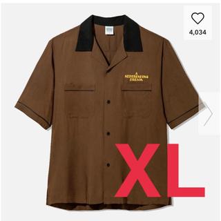 ジーユー(GU)のGU STUDIOSEVEN オープンカラーシャツ(シャツ)