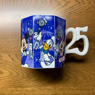 Disney - ディズニー 25周年 ミニマグカップ 新品
