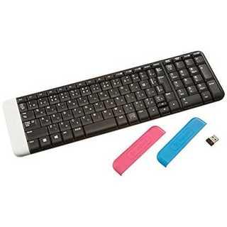 ホワイトLOGICOOL ワイヤレスキーボード K230(PC周辺機器)