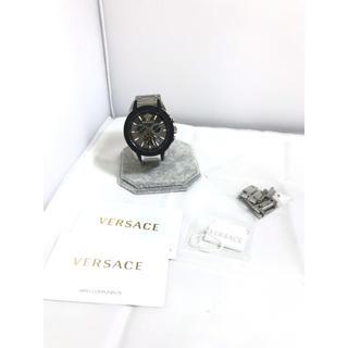 ヴェルサーチ(VERSACE)の定価17万 稼働!! ヴェルサーチ ベルサーチ キャラクタークロノベゼル M8C(腕時計(アナログ))