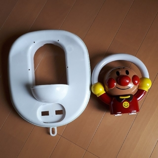 アンパンマン(アンパンマン)のアンパンマン幼児用補助便座 おまる おもちゃ 腹巻きセット(補助便座)