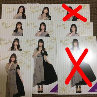 ノギザカフォーティーシックス(乃木坂46)のポストカード(アイドルグッズ)