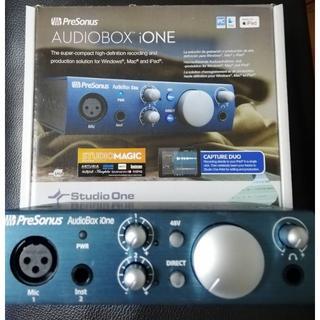 本日緊急告知!PreSonus AudioBox iOne+@(PC周辺機器)