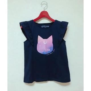 ジーユー(GU)の☆ルナT★ネイビー☆(Tシャツ(半袖/袖なし))