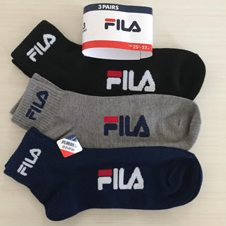 フィラ(FILA)のFILAソックス靴下25〜27(ソックス)