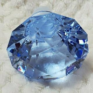 超レア『アクリル ボトルストッパー   ダイヤモンド  BL ブルー』   (ウイスキー)
