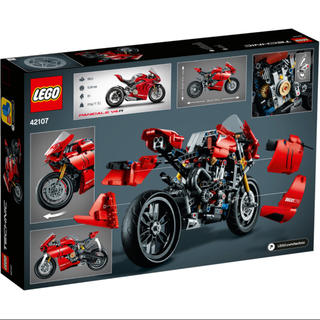 レゴ(Lego)のレゴ (LEGO) テクニック ドゥカティ パニガーレ V4 R 42107(積み木/ブロック)