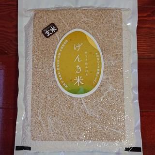 無農薬・有機栽培・富山県産コシヒカリ・玄米900g(6合)真空パック入り!(米/穀物)