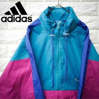 アディダス(adidas)のアディダス adidas ナイロンジャケット 90s メンズ Sサイズ 1-9(ナイロンジャケット)
