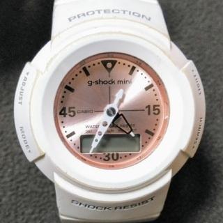 ベビージー(Baby-G)のBaby-g GMN-50 ホワイト(腕時計)
