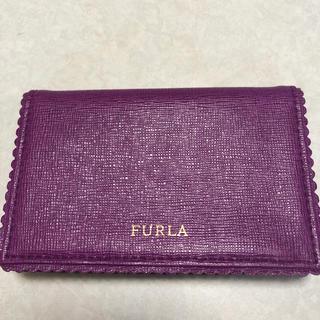 フルラ(Furla)のフルラ 名刺入れ カードケース 未使用品(名刺入れ/定期入れ)