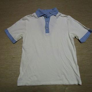 シップス(SHIPS)のシップス 切替水玉ドットデザインポロシャツ☆(ポロシャツ)