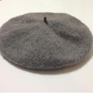 アースミュージックアンドエコロジー(earth music & ecology)のグレー ベレー帽 earth(ハンチング/ベレー帽)