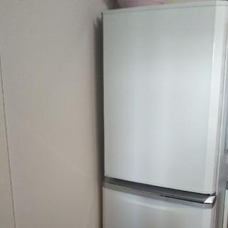 ミツビシ(三菱)の三菱 ノンフロン  冷蔵庫 冷凍庫  大型(冷蔵庫)