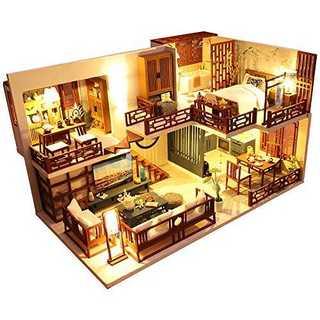 DIY木製ドールハウス ミニチュアコレクション(模型/プラモデル)