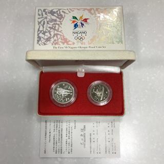 長野オリンピック冬季競技大会(第1次) プルーフ貨幣セット(貨幣)